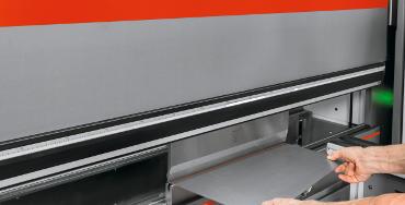 Sheet bending