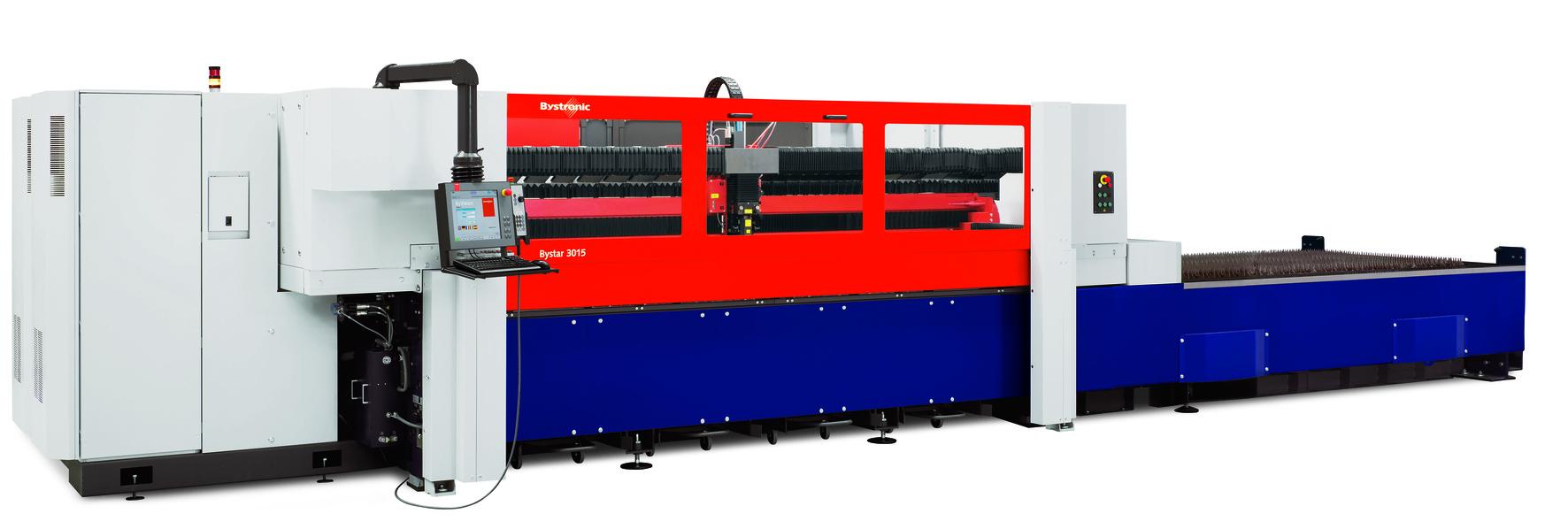 Lazer Bystronic tarafından Kesme Makinası
