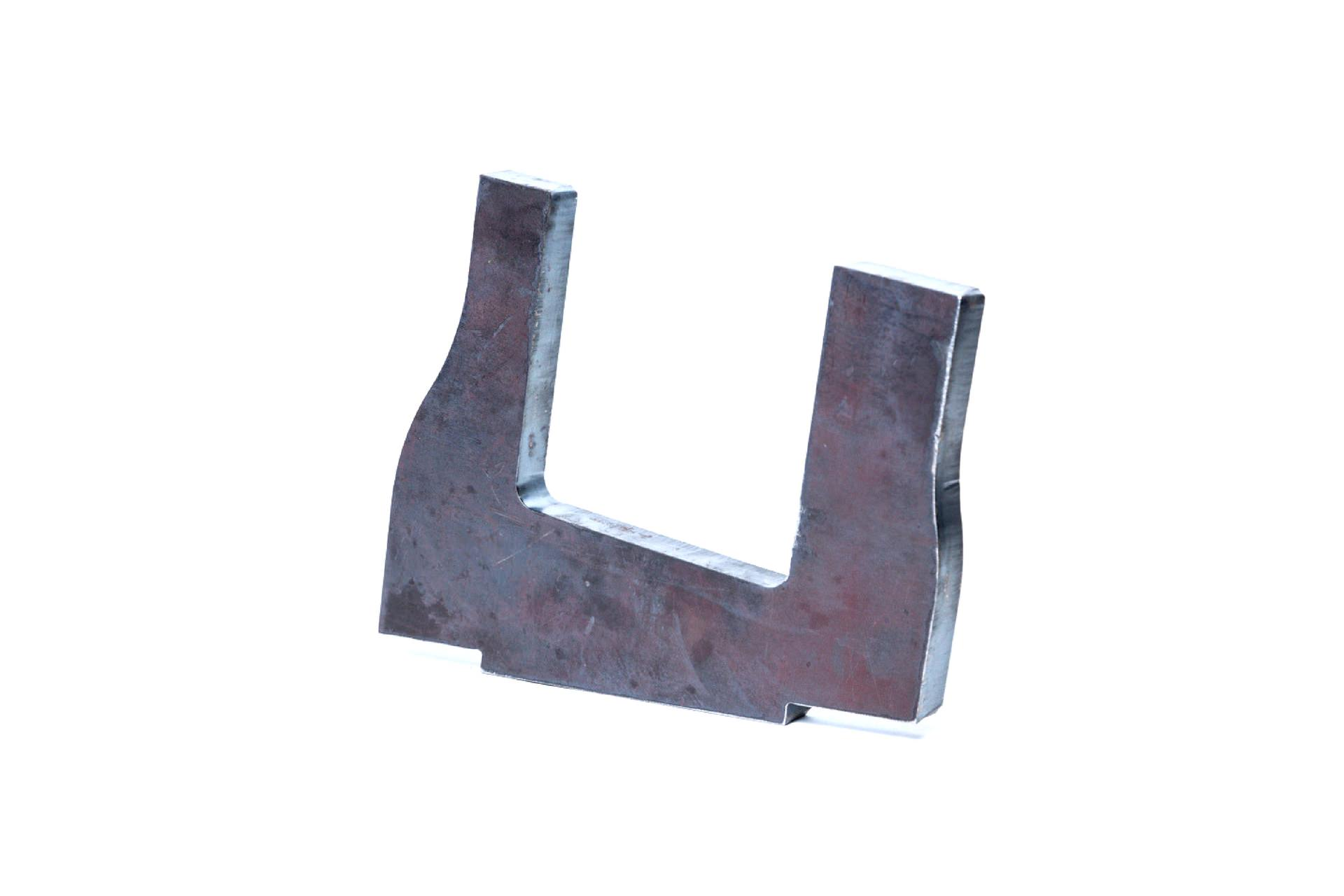 Metal parts cut by oxy-fuel – 01