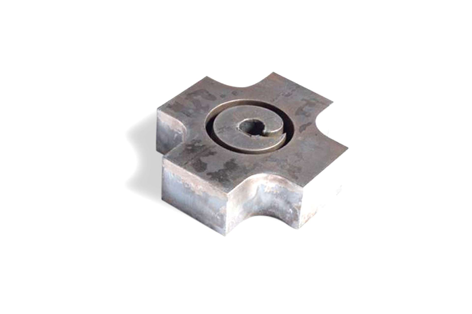 Metal parts cut by oxy-fuel – 03